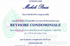 Certificazione REVCOND
